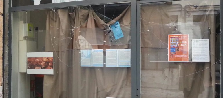 Dans le Vieux Lyon, la Maison des passages encore ciblée par l'extrême droite radicale