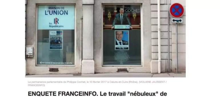 La femme du député (LR) Philippe Cochet bénéficie-t-elle d'un emploi fictif ?