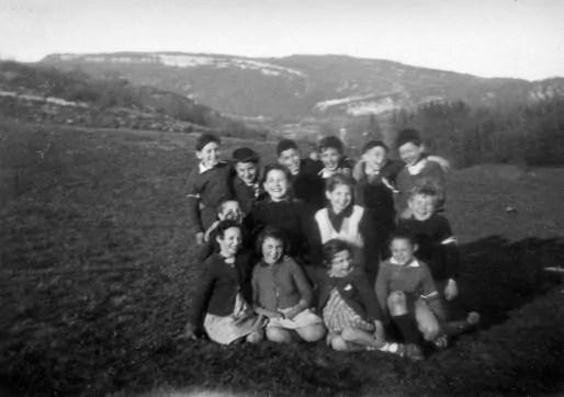 Les enfants d'Izieu © Maison d'Izieu - Coll. Marie-Louise Bouvier
