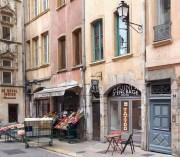 """""""Le Point d'encrage"""", le salon de tatouage du GUD dans le Vieux Lyon. ©LB/Rue89Lyon"""