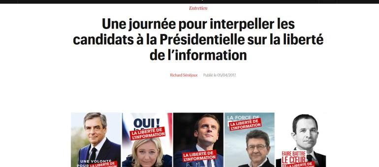 Informer n'est pas un délit ou la liberté de la presse selon le journaliste Edouard Perrin