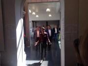 Najat Vallaud-Belkacem à Villeurbanne au premier tour des élections législatives ©HH/Rue89Lyon