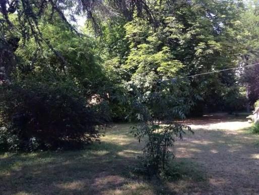 Le parc de plus de 5000 m2 de la villa Monoyer