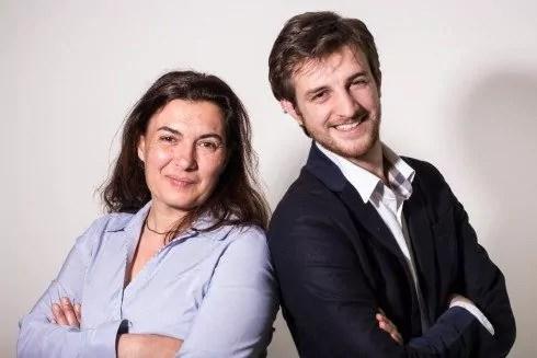 Sophie Charrier et Andréa Kotarac, côte à côte sur la photo officielle de campagne. ©DR