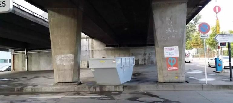 Lyon fait place nette : les SDF de l'autopont de la Confluence expulsés