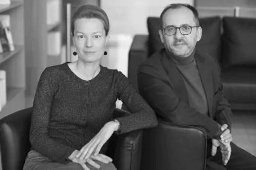 Justine Lacroix et Jean-Yves Pranchère, professeurs à l'Université Libre de Bruxelles. Photo Jérôme Panconi