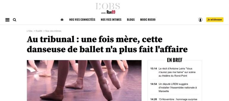 Opéra de Lyon : le directeur du ballet condamné pour discrimination