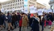 Le cortège des anti-IVG à Lyon, dimanche 26 novembre. ©LB/Rue89Lyon