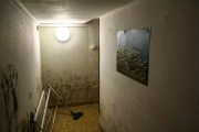 L'isolation du sous-sol n'est pas encore achevée, et l'humidité est encore présente. ©JBAuduc/Rue89Lyon
