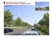 Des voies de bus (et taxis) sur l'A6 déclassée à hauteur d'Écully pour 2020. Source : Métropole de Lyon.