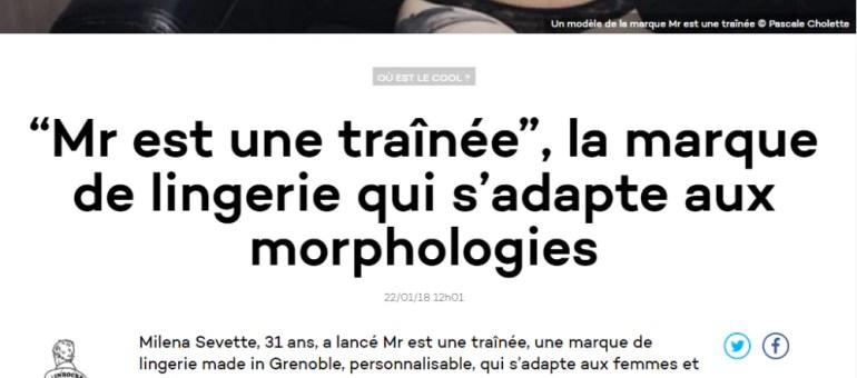 De la lingerie adaptée aux femmes «et pas l'inverse», made in Grenoble