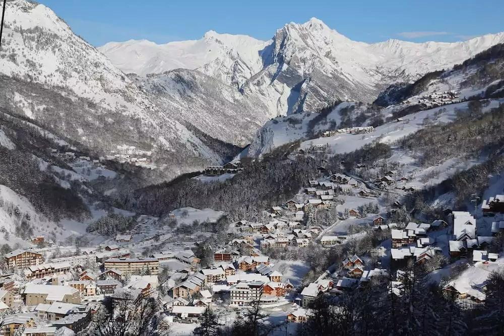 La station de Valloire, en Savoie. ©DR