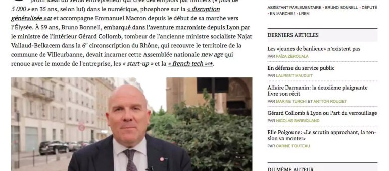 Assistant du député Bruno Bonnell, il dénonce l'absence de contrat de travail