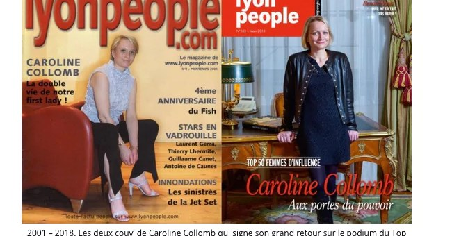 Barouf et photos à l'hôtel de Beauvau placent Caroline Collomb sur orbite