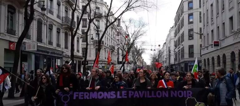 A Lyon, une « Marée populaire » contre Macron… et contre l'extrême droite ?