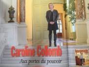 Caroline Collomb dans le numéro de mars 2018 de Lyon People.