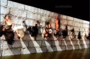 Image tirée de la vidéo d'Adel Abdessemed.