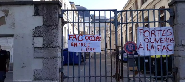 5 choses à savoir sur le blocage de l'université Lyon 2