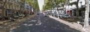 Cours Roosevelt la place ne manque pas. Capture d'écran Google Streetview