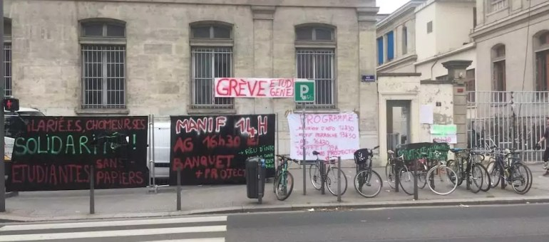 Amphi squatté, barrages filtrants et petit déj… Une occupation « light » de Lyon 2