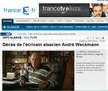 Décès de l'écrivain alsacien André Weckmann