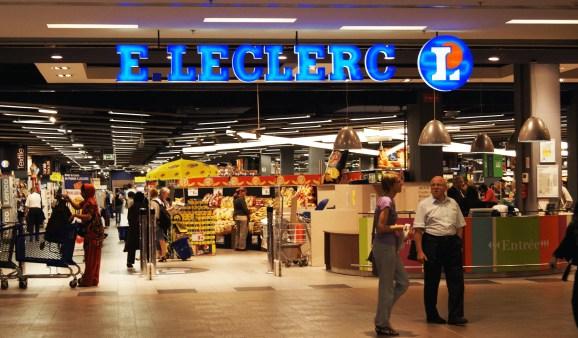 Le supermarché E.Leclerc du centre commercial Rivétoile.
