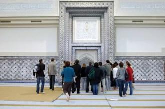 Le Mirhab a été richement décoré par les artisans marocains (Photo David Rodrigues)