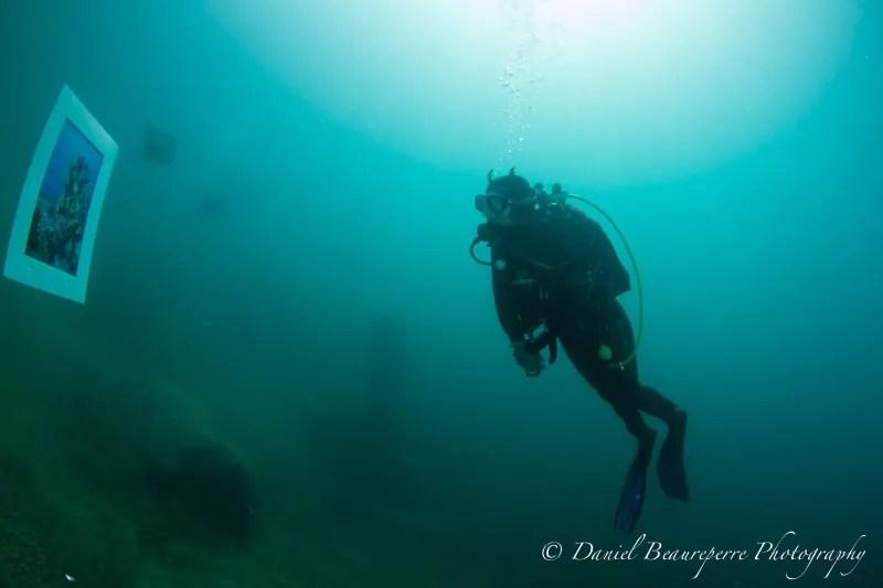 Exposition sous l'eau