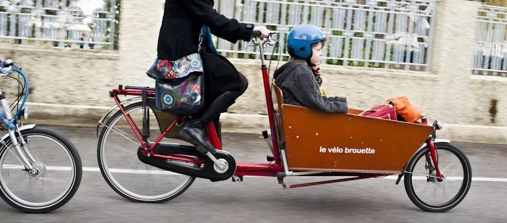 Vélo-cargo, la nouvelle star des pistes cyclables à Strasbourg