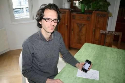 Fabien Romary, directeur de l'association Archi-Strasbourg