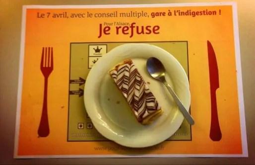 """Support de la campagne du """"non"""" socialiste au référendum du 7 avril 2013 (Document remis)"""