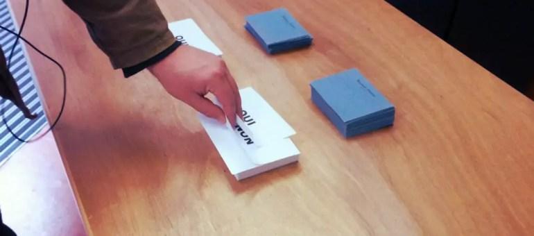 Très faible participation au référendum ce matin