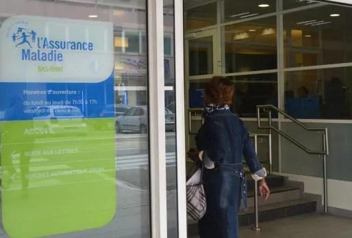 La Caisse primaire d'assurance maladie du Bas-Rhin a accueilli la presse, vendredi, pour faire un bilan des détections des fraudes de l'année dans la région. (Photo PDD/ Rue89 Strasbourg)