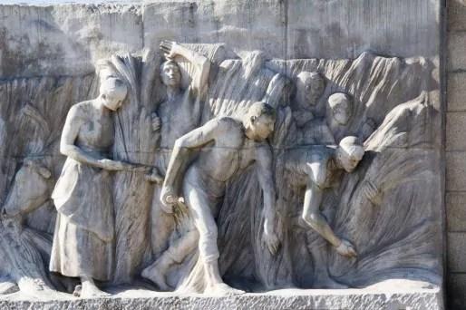 Monument au travail à Bruxelles (Photo Antonio Ponte / FlickR / cc)