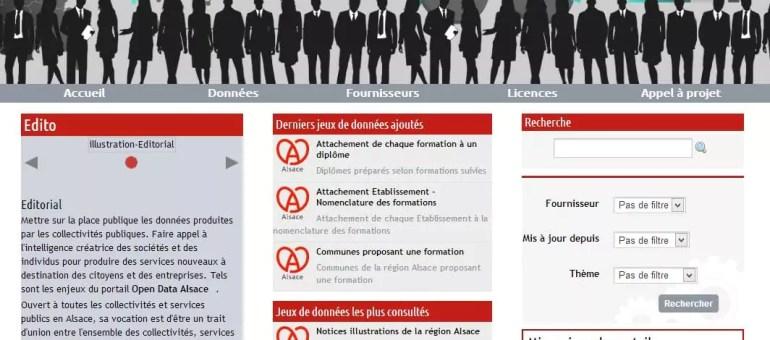 La Région ouvre son portail OpenData