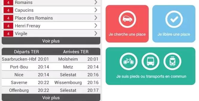 MyStrasbourgApp et Parkiz, nouvelles applications open data