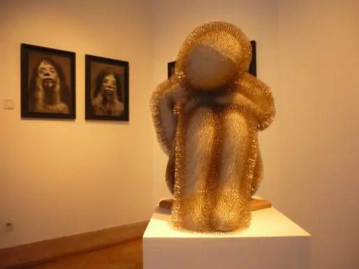 Laurence Demaison, vue de l'exposition à la Galerie Chantal Bamberger photographie : Anaïs Roesz