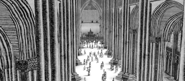 Amopix habille la cathédrale de Strasbourg par un clip graphique