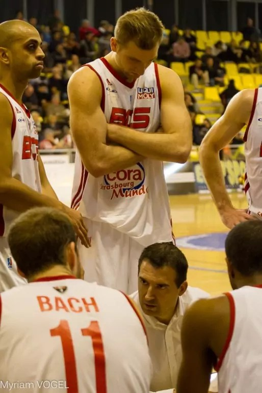 Stéphane Eberlin, coach du BCS - MV - Document remis