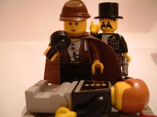 personnages en Lego
