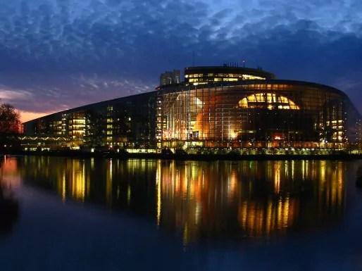 Le Parlement européen aura ce dimanche soir 751 nouveaux députés (Photo Cédric Puisney / Rue89 Strasbourg)