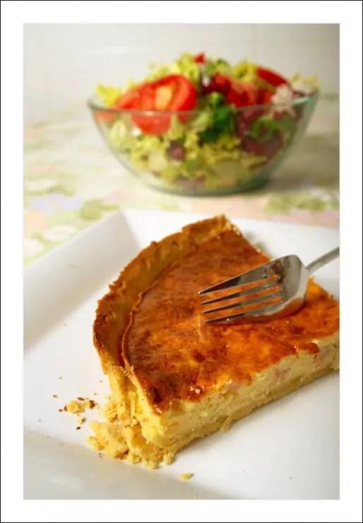 Une quiche lorraine (Photo Roger Ferrer Ibáñez / Flickr / cc)