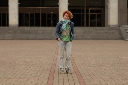Alesia travaille pour un des rares journaux locaux indépendants de Biélorussie.