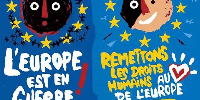 Chaîne humaine mercredi contre la politique migratoire de l'Europe