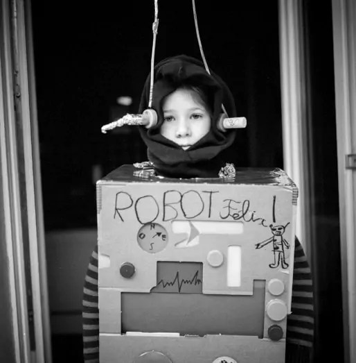 Robot Félix (Photo Pascal Bastien)