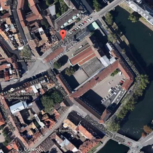 Les travaux se poursuivront rue de la Courtine en 2016 (Capture MM)