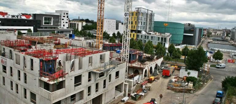Un tiers du quartier Danube sera habitable en 2016