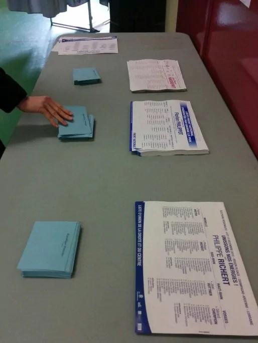 Les votes du second tour en ALCA (Photo PF / Rue89 Strasbourg / cc)