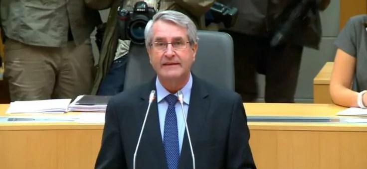 Philippe Richert, élu président de la nouvelle région ALCA