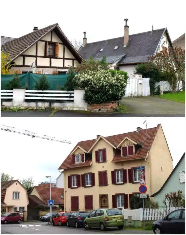 """Rues de la Poutrelle et du Maquis, la """"vieille Musau"""" (Photos MM / Rue89 Strasbourg)"""